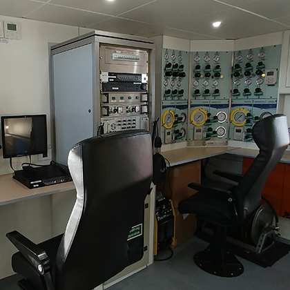 Dive Stations aboard the Stapem Beluga 19m Dive Support Vessel
