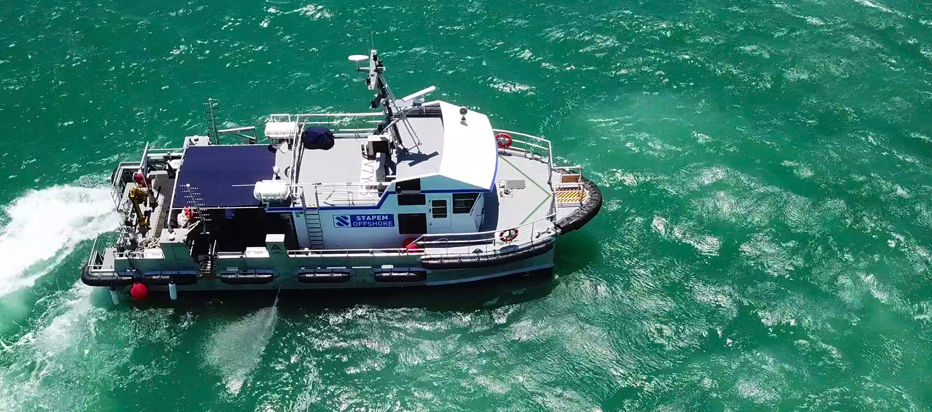Stapem Beluga 19m Dive Support Workboat