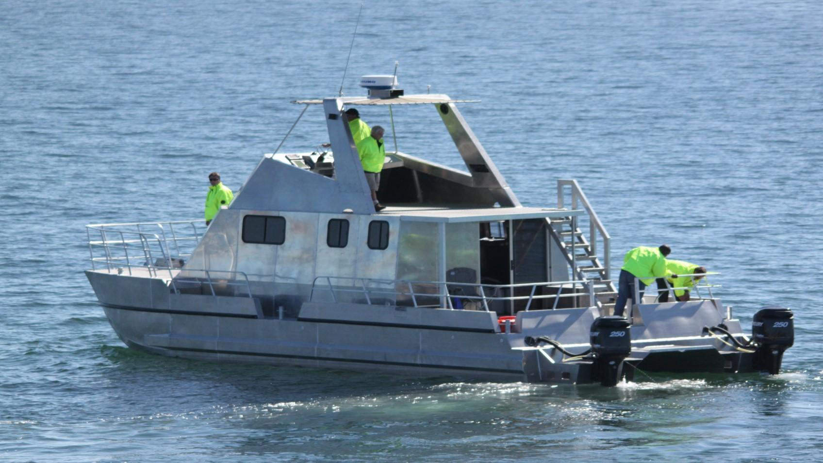 Legacy Marine 1450 Research Vessel Sea Trials